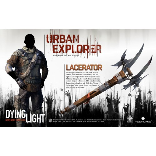 Dying Light Exclusive Pack 1 DLC PEGI nicht fr DE / AT