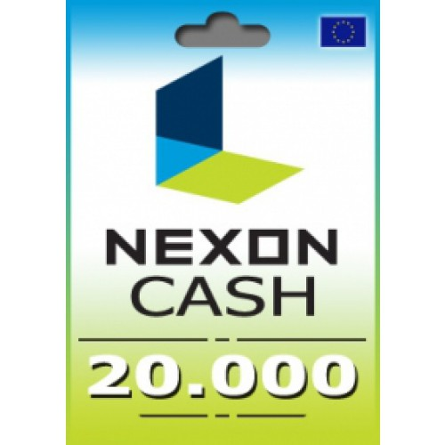 20.000 Nexon Cash Points