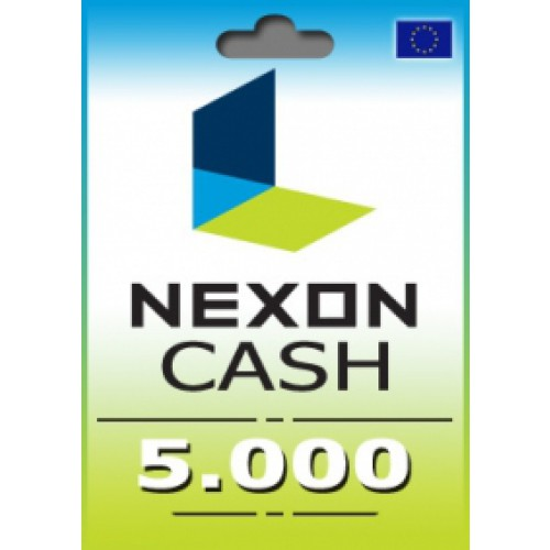 5000 Nexon Cash Points