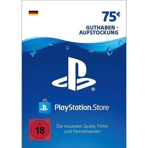 PlayStation Network Card 75 Deutschland