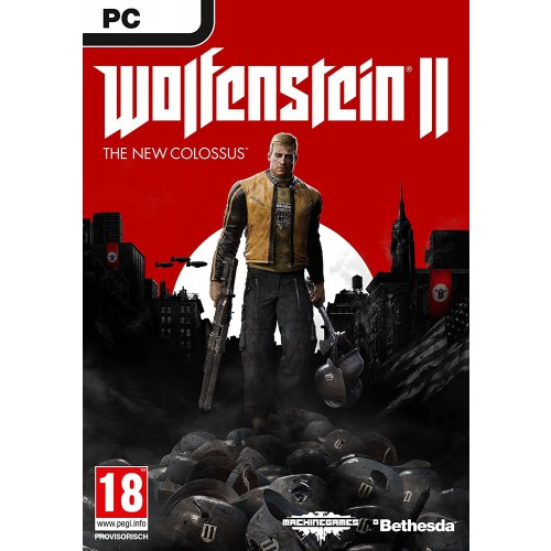 Wolfenstein 2 The New Colossus PEGI Uncut Version