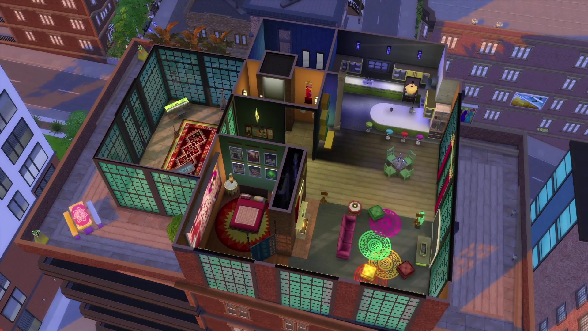 die sims 4 gro stadtleben als download online kaufen. Black Bedroom Furniture Sets. Home Design Ideas
